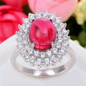 Starred Sapphire Ruby Gemstone Ring